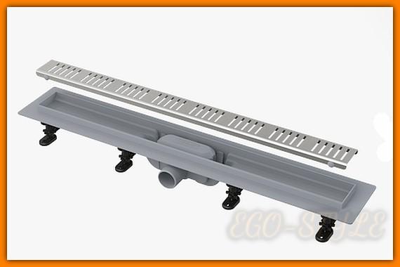 Odpływ liniowy APZ10-850M AlcaPLAST 85 cm odwodnienie liniowe z rusztem kpl. SIMPLE