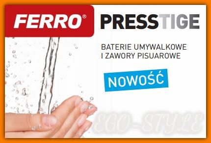 bateria umywalkowa czasowa PRESSTIGE Z201 FERRO