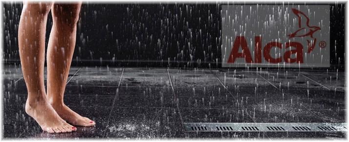 Odpływy łazienkowe ALCA