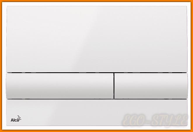 przycisk spłuczki podtynkowej M1710 ALCAPLAST biały DELFIN