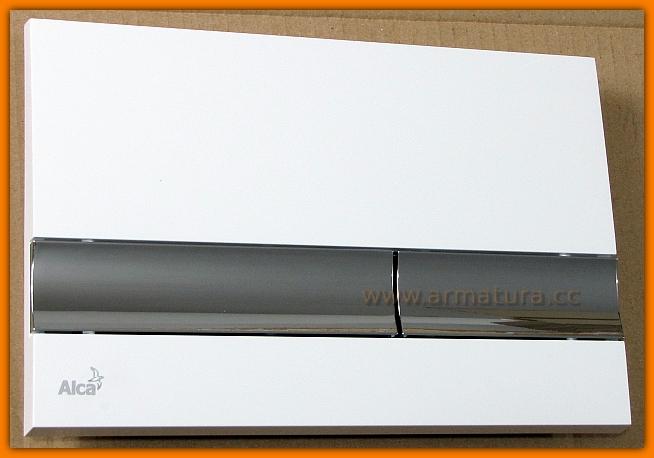 przycisk spłuczki wc M1720-1 ALCAPLAST chrom połysk DELFIN