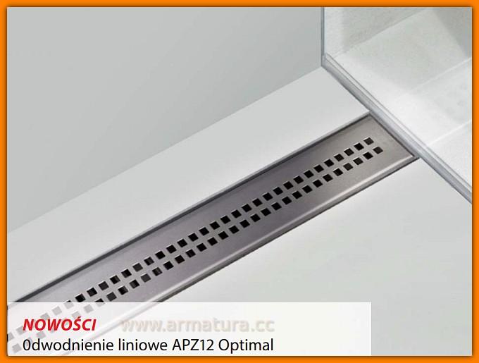 ALCAPLAST odwodnienie liniowe APZ12-850 Optimal L-85 cm odpływ liniowy