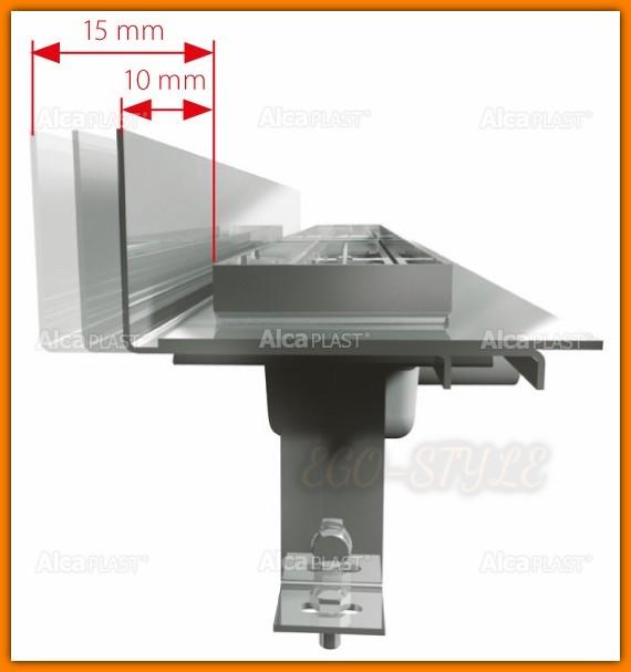 odpływ łazienkowy APZ104-750 ALCAPLAST 75cm Flexible Low