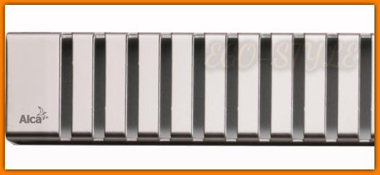 Ruszt LINE-300L Odpływu łazienkowego MINI APZ1-300 ALCA PLAST 30 cm