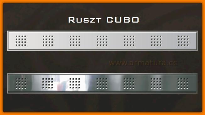Ruszt CUBO 90 cm do odpływu liniowego WINKIEL DESIGN WDR-900-01-0001