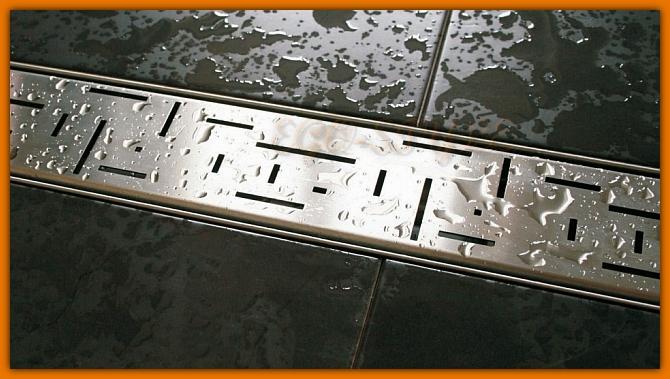 odpływ łazienkowy LORAC TETRIS L-80 cm odwodnienie liniowe