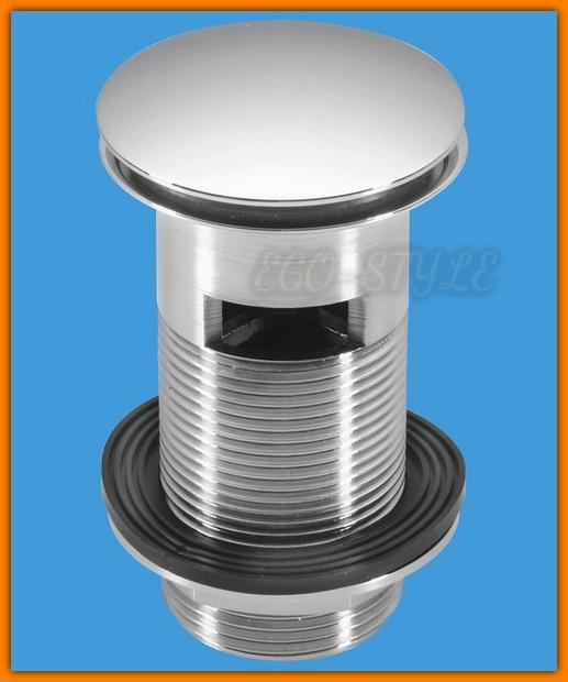 Spust korek umywalkowy KLIK-KLAK CW60-CB McAlpine duży z przelewem