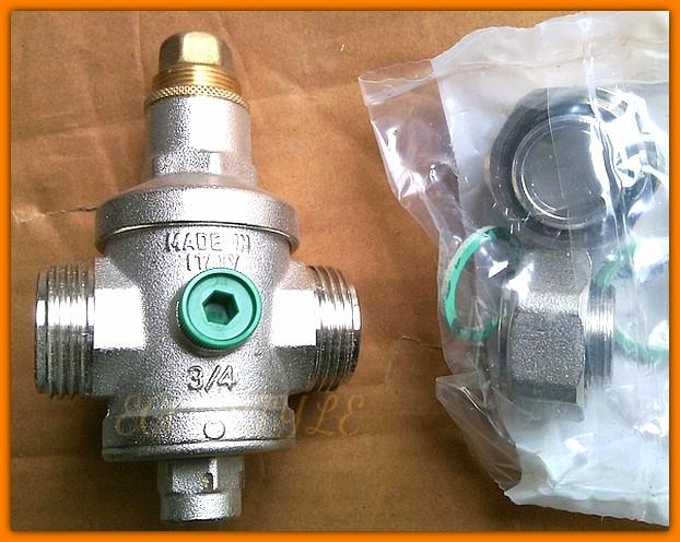 "FERRO Reduktor ciśnienia wody 3/4"" wlot-25bar wylot-0,5-5bar RC20"