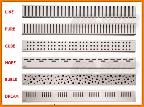 odpływ łazienkowy APZ101-850 LOW ALCAPLAST 85 cm niskie