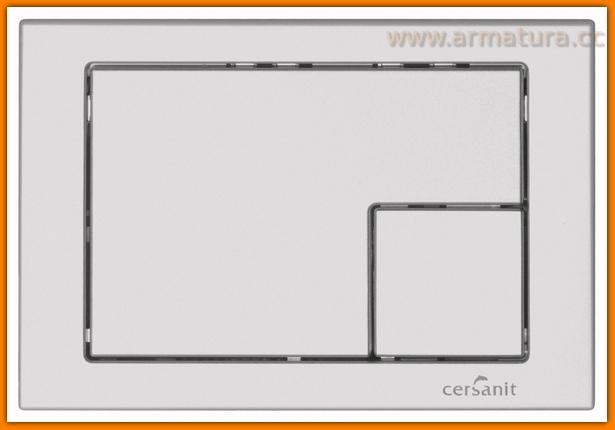 przycisk do stelaża wc CERSANIT LINK chrom MAT K97-174