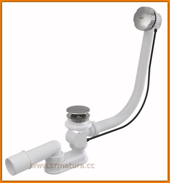 syfon wannowy A55KM ALCAPLAST automatyczny