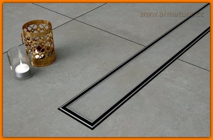 Odpływ liniowy pod płytki CERAMIK SANITLINE odwodnienie prysznicowe 60 cm