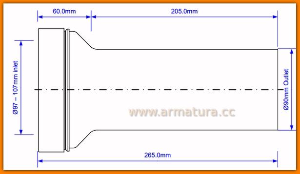 Zestaw rur komplet montażowy do montażu stelaży WC McAlpine FPKIT-2