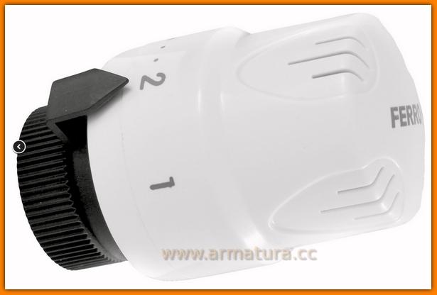 Głowica termostatyczna GT5 Caleffi FERRO do zaworów termostatycznych